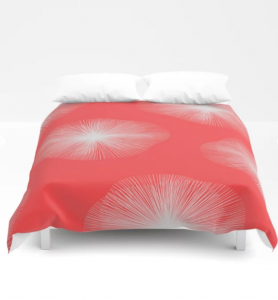 Coral Bust Duvet Cover di Amy Harlow, 109,99 sterline